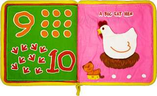 six pick up sticks, seven eight open the gate, nine ten big fat hen