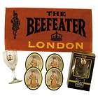 BEEFEATER SILVER PLATE MARTINI GLASS BAR GRATUITY TIPS