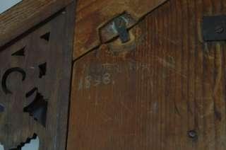 CUCKOO QUAIL BLACK FOREST CLOCK BEHA FUSEE