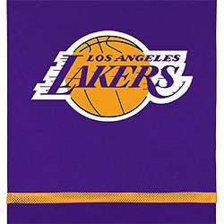 LOS ANGELES LAKERS Basketball Wall Decor HANGING BANNER