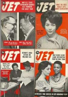 12/1962 JET MAGAZINE Duke Ellington Benny Goodman JAZZ TOUR No Label