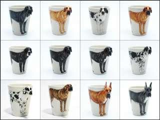 Great Dane Uncropped Ears Ceramic Mug Coffee Cup Dog Lover Original