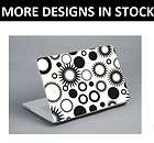 17 circles skin cover for hp apple laptop notebook macbook air decal