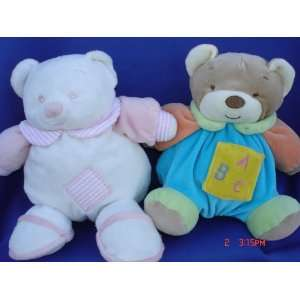 Ultra Soft My First Baby Teddy Bear Toy Rattle Stuffed