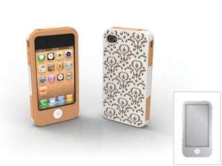 CANDY iPHONE 4 THREE PIECE CASE SET ~ BORDEAUX 609722656306