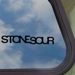 Stone Sour Black Decal Metal Rock Band Truck Window