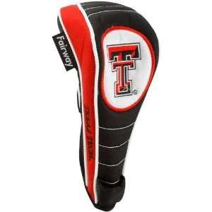 Texas Tech Red Raiders Black Scarlet Shaft Gripper Fairway Golf Club