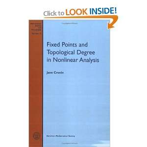 Fixed points and topological degree in nonlinear analysis