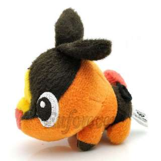 Pokemon 2010 Pokabu Tepig 3 Plush Toy Doll New^PF2305