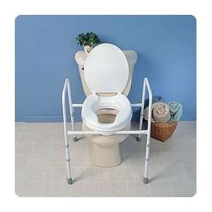 Raised Toilet Seat with Frame. Without lid, 2 (5cm) seat seat