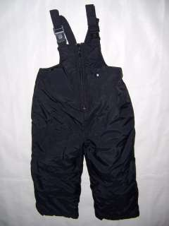 Big Chill black Snowpants Bibs Ski Boy Girl Kids 2T