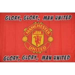 Manchester United   Official Glory, Glory Team Flag