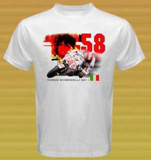 MARCO SIMONCELLI 2011 Honda MotoGP T shirt Size S 3XL