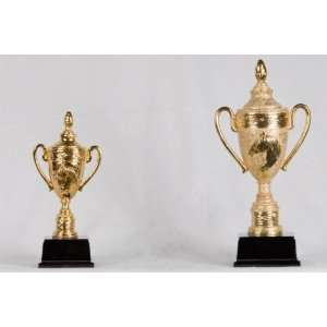 12 inch Medium Gold Horse Champion Cup Trophy Figurine