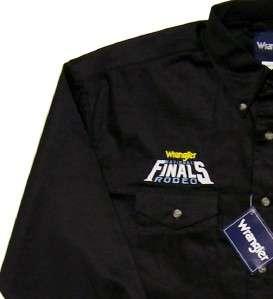 National Finals Rodeo Las Vegas PRCA Cowboy Shirt *NWT* XLarge