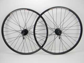 26 Cannondale Fire 6 Bolt Disc Wheels, Black Eye Sun Rims