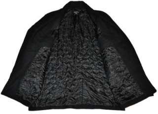 MICHAEL KORS Mens Wool Blend Coat Jacket Quilt Lined Black NEW Size XL