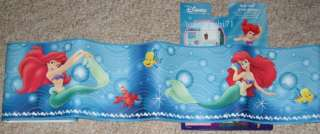 DISNEY LITTLE MERMAID PRINCESS ARIEL WALL BORDER