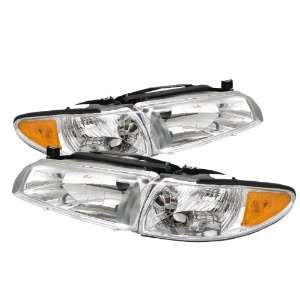 Pontiac Grand Prix Headlights/ Head Lights/ Lamps / Corner