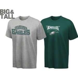 Philadelphia Eagles Big & Tall Blitz 2 Tee Combo Pack