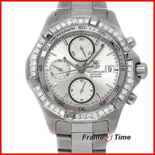 Tag Heuer Men Aquaracer Diamond Automatic Watch CAF2111