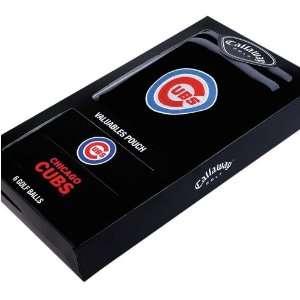 Chicago Cubs MLB Team Logod Golf Balls (6) and