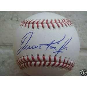 Autographed Baseball   San Francisco Giants Official