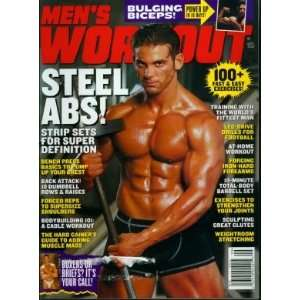 Mens Workout Magazine September 2003 Michael Catarevas