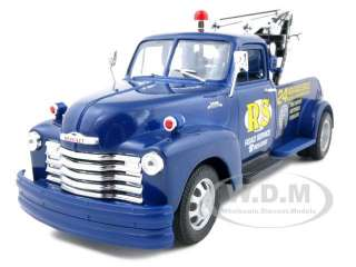 brand new 1 24 scale diecast model of 1953 chevrolet 3800 tow truck