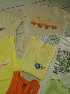 ROXY BILLABONG HURLEY Ladies Surf Skate T Tee Shirt Top Lot Sz Medium