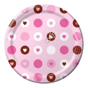 Bridal Wedding Shower Party BRIDE 2 BE DESSERT PLATES