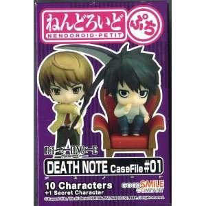 Nendoroid Petite Death Note Case File #1 Mini Action