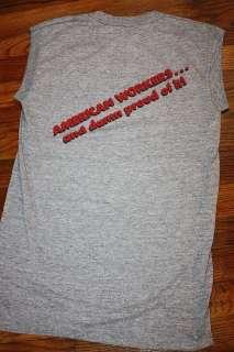 XS * vtg RAYON 80s 1982 THE BUS BOYS rayon shirt * concert tour
