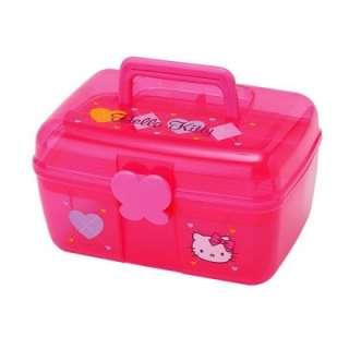 Sanrio Hello Kitty Argyle Caboodle Case  Heart