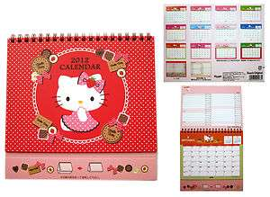 Official Sanrio HELLO KITTY Calendario Desk Calendar made in Japan #1