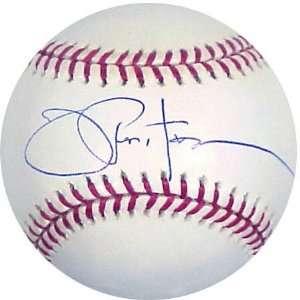 Joe Pepitone Autographed Baseball