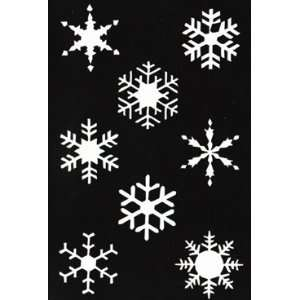 SNOWFLAKE STENCIL Snazaroo Face Painting Stencil Toys