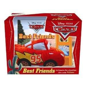 Disney Pixar Cars   Best Friends   Book Box and Plush Gift
