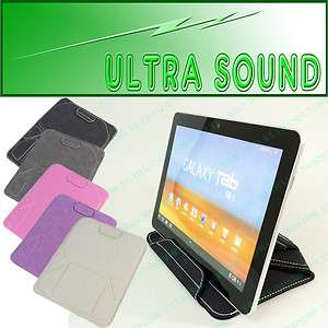 Cotton Smart Case Pouch Stand for HTC JetStream Tablet PC C39