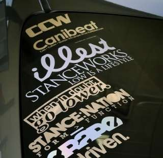 StanceWorks Stance Works Low is a Lifestyle diecut die cut decal