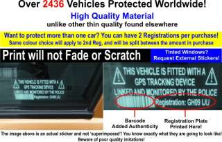 Netbook Computer Security Sticker Fake GPS Police Tracking Sign Dell