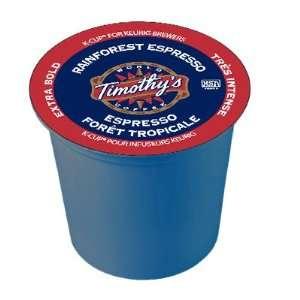 Timothys World Coffee Rainforest Espresso 96 K Cups Everything Else