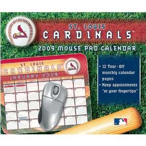 St. Louis Cardinals MLB Mouse Pad Calendars