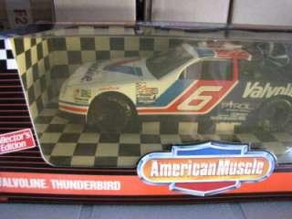 18 Ertl American Muscle VALVOLINE THUNDERBIRD #6 car