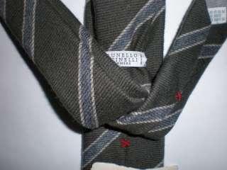 BRUNELLO CUCINELLI cashmere tie   New with Tags