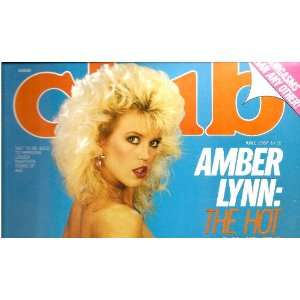 CLUB JUNE 1987 AMBER LYNN CLUB MAGAZINE Books