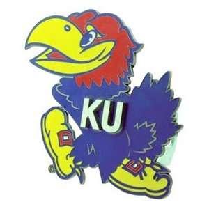 Kansas Jayhawks KU NCAA Trailer Hitch Cover