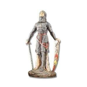 Knight of the Middle Ages Crusader Statue Figurine