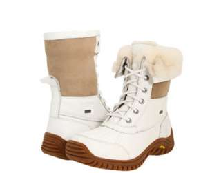 New UGG Australia Adirondack Boot II Womens White Winter Boots 3235