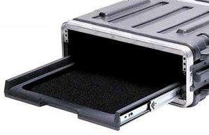 SKB 2 Space Rack Case Pull Out Sliding Velcro Shelf